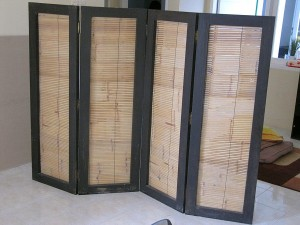 sekat bambu