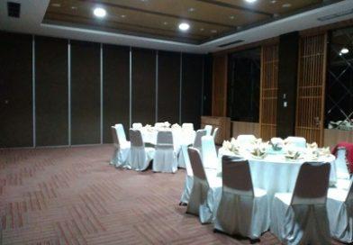 Partisi Lipat Restaurant Han Palace Surabaya