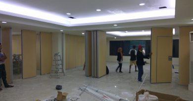 Partisi Lipat Bank  BNI Makassar