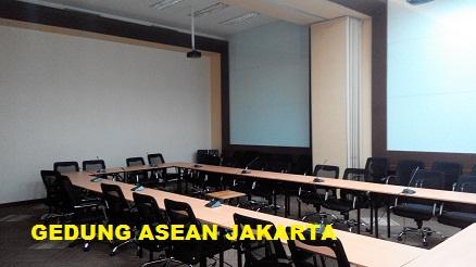 Partisi lipat Gedung Asean Jakarta