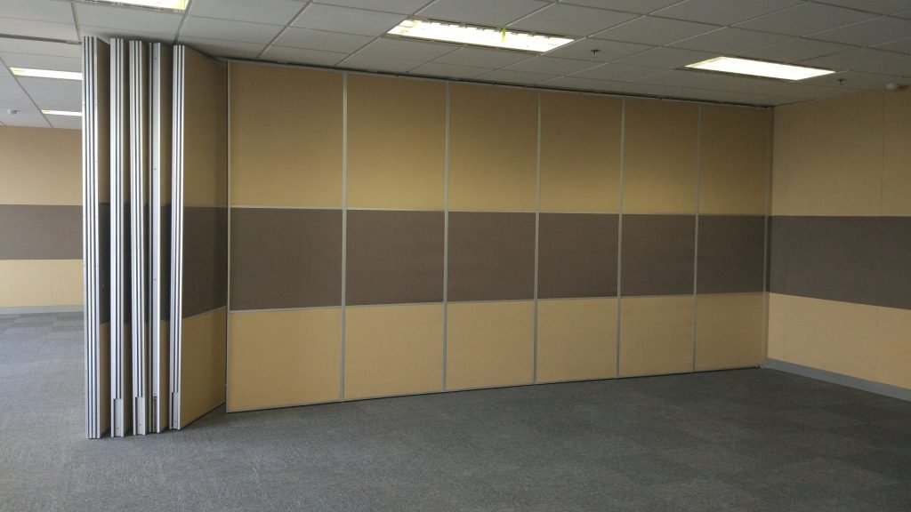 office sliding partition